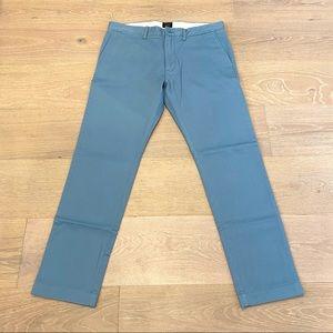 J. Crew 484 Slim-Fit Stretch Chino Pant (Blue)
